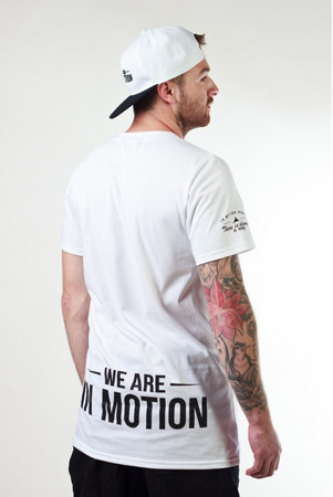 Parkour triko inmotion circuit bílé