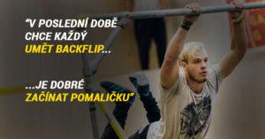 Michal Morávek – Full-time parkourista, budoucí RedBull atlet?